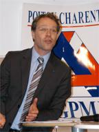 François Asselin, Président de la CGPME Poitou-Charentes et Deux-Sèvres