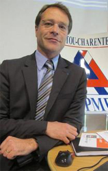 François Asselin, président de la CGPME Poitou-Charentes
