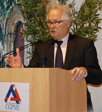 Jean-François Roubaud à l'assemblée de la CGPME Deux-Sèvres au printemps 2013